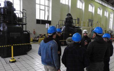 Travaux pratiques à l'usine hydroélectrique de la SHEM pour les élèves du lycée tarbais Jean-Dupuy