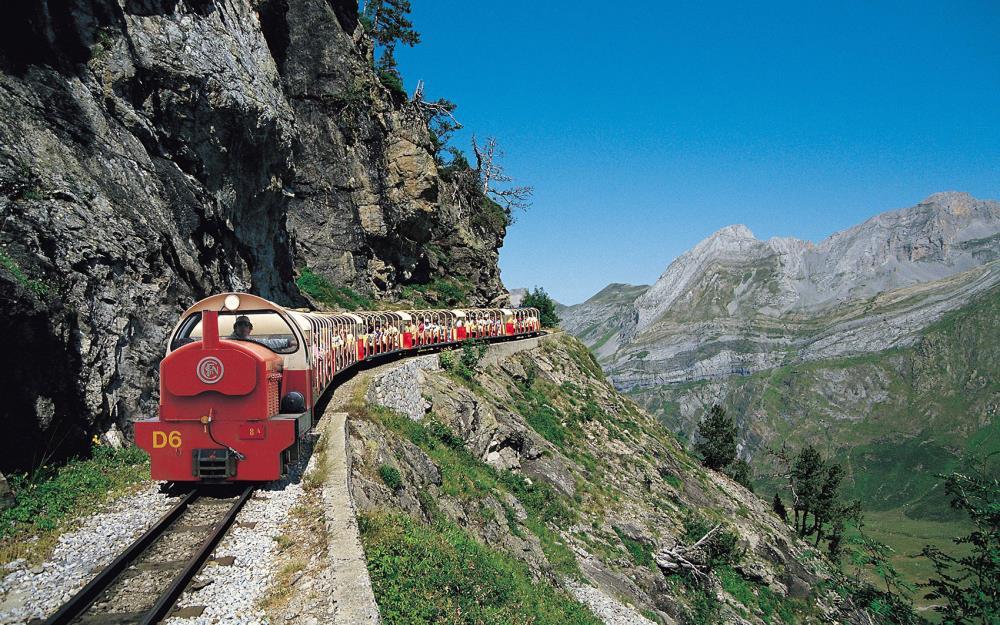 Le Train d'Artouste, un petit train pour un grand barrage