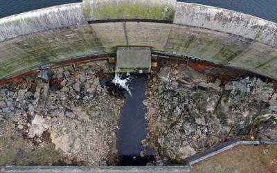 La SHEM lance des travaux au barrage des Galens (Aveyron)