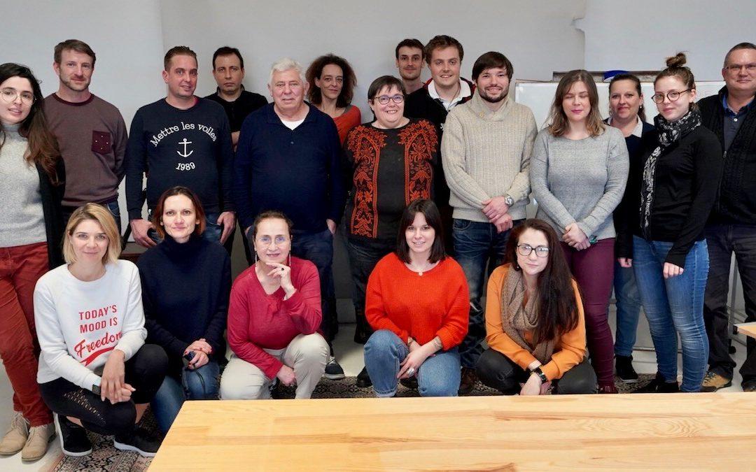 J'entreprends Corrèze : 16 créateurs d'entreprises en formation