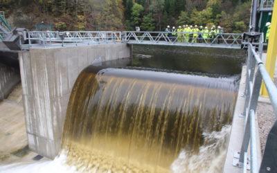 Essais réussis du clapet de l'évacuateur de crue du barrage des Essarts