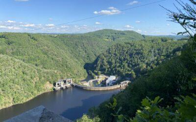 Animations au belvédère de Marèges (Liginiac)  pour découvrir l'hydroélectricité
