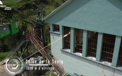 Chantier d'envergure à l'usine hydroélectrique SHEM de La Soula (Hautes-Pyrénées)